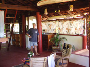 THE PAPAYA TREE  SUITE (Upper Villa)